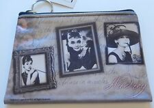 Audrey Hepburn Make-Up/ Cosmetic Bag Pouch-I believe in pink-3 pictures