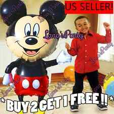 """Giant 44"""" Mickey Minnie Mouse Birthday Party Balloons Balloon Super Shape"""