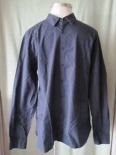 Mens Marc Ecko Cut&Sew Basic Black LS Dress Shirt NWT $79.50 Jig Jag Pattern XL