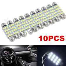 10x Lot 41mm White 3528 12 SMD LED Car Interior Festoon Dome Bulb Lamp Light 12V