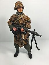 1/6 DRAGON GERMAN 3RD SS DIV MG-42 GUNNER CAMO P-38 RUSSIA WW2 BBI DID 21st