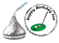 216 GOLF BIRTHDAY PARTY FAVORS HERSHEY KISS KISSES LABELS
