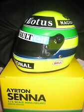 Helmet casque casco  1/2 Ayrton Senna brands-hatch 1986 very top rar!!!!it's new