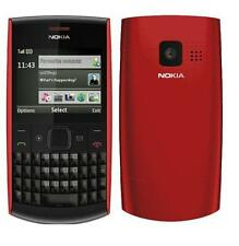 Nokia X Series X2-01 - Red (Unlocked) QWERTY keypad Cellular Phone Free Shipping