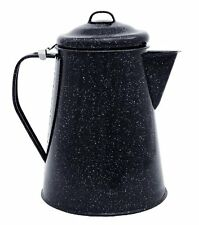 New Camping Coffee Pot Boiler 3 Quart Camp Fire Outdoor Hiking Steel Core