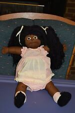 HANDMADE SOFT SCULPTURE CABBAGE PATCH KIDS AFRICAN AMERICAN DOLL