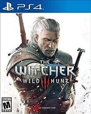 The Witcher 3: Wild Hunt - PlayStation 4 Ps4 games New Free Shipping