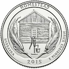QUARTER DOLLAR DES ETATS-UNIS 2015 S - HOMESTEAD NATIONAL MONUMENT