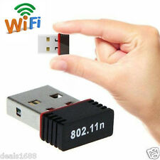 Wireless 150Mbps USB Dongle WiFi Adattatore 802.11 b/g/n rete LAN Scheda