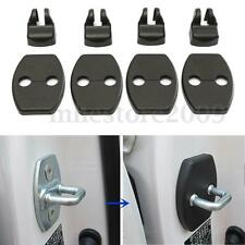 4Pcs Fit For TOYOTA Door Lock Buckle Catch Covers + 4Pcs Stopper Arrester Case
