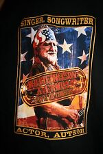 NEW! Mens WILLIE NELSON And Family Concert Longsleeve T-Shirt XL Made in USA!