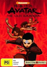 Avatar - The Last Airbender - Fire : Book 3 : Vol 1 (DVD, 2010) Unsealed