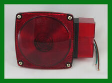 """452 4"""" Red Lens STT Light For Trailer Stop Turn  Tail Over 80"""" Wide Right Side"""