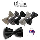 MENS BOW TIE by Distino - Pre-tied Bowties for Wedding, Formal, Tuxedo