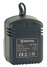 Mercury Unregulated 12V 500mA 12Vac AC UK Mains Power Supply Adaptor 6W
