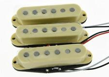 Set of 3 N/M/B Cream Alnico 5 Single Coil Pickups ST Strat SSS Pickup Set
