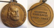 medaglia ass. naz. veterani garibaldini a ricordo della morte di garibaldi 1882