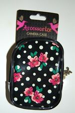 Vintage Floral & Polka Dot Camera / Phone Case From Accessorize. BNWT Gift