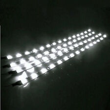 4PCS white Led Motorcycle Under Glow Frame Engine Motor Light Strips W/Adhesive