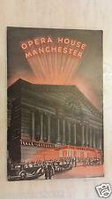 1933 Opera House Manchester Programme - ELISABETH BERGNER in ESCAPE ME NEVER