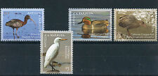 Antigua & Barbuda 2009 MNH Birds 4v Set Ibis Egret Teal Ducks Rail Stamps