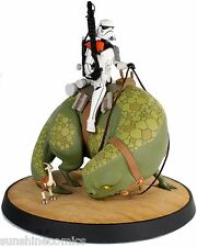 Star Wars Sandtrooper on Dewback Animated Maquette Statue 234/375 NEW SEALED