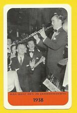 Benny Goodman Jazz Clarinet Cool Music Collector Card from Europe