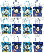 Disney Mickey Mouse Party Favor Supplies Goody Loot Gift Bags [24ct]
