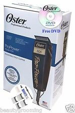 Oster 220v Pro Power 606 Pivot Clipper Adjustable Blade 76606-950 FREE DVD New