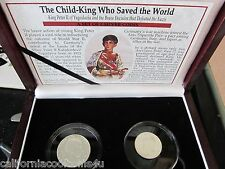 The Child King Who Saved The World From The Nazis - King Peter's 2 Silver Coins