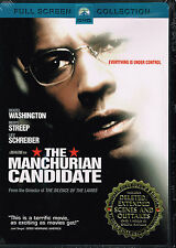 The Manchurian Candidate (DVD, 2004, Full Screen Version)  free shipping