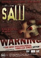 SAW _ Every puzzle has its pieces - Danny Glover  (DVD, 2005) #229
