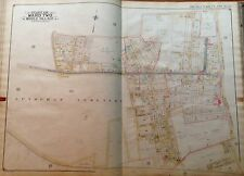 1908 B. HYDE MIDDLE VILLAGE LUTHERAN CEMETERY P.S. 87 QUEENS NY PLAT ATLAS MAP