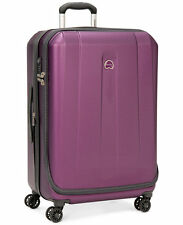 "Delsey Helium Shadow 3.0 25"" Expandable Spinner Suiter Upright Luggage - Purple"