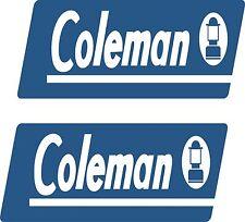 coleman rv camper pop up decal sticker popup decals