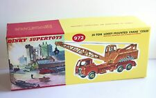 DINKY Reproduction Box 972 20-Ton Lorry Mounted Crane 'Coles'