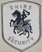 "Shire Security Guard Patch - 3"" x 4"" - Northamptonshire United Kingdom"