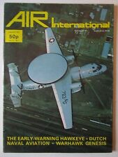 AIR INTERNATIONAL 1/1977 E-2C HAWKEYE KONINKLIJKE MARINE HAWK MONOPLANES P-40