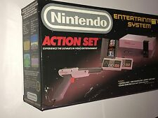 Nintendo NES Action Set Console System in Box - Nearly New , No Manuals