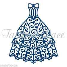 Tattered Lace Cutting Die - Oscar Gown - Ballroom Dress- D1016  - New Out