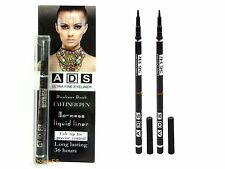 ADS Ultra Fine Eyeliner Extra Black Water Proof Long Lasting 36 Hours