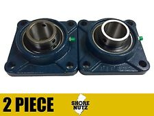 "(2 Pieces) 1-1/4"" 4 Bolt Flange Bearing, UCF206-20 UCF206"