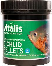Vitalis Central South American dei CICLIDI PELLET M 120g cibo per pesci 6mm