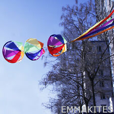 """62"""" Rainbow Wind Spinner Windsock Kite Tail Colorful for Garden Yard Outdoor Kid"""