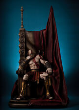 GOD OF WARS - KRATOS ON THRONE 1/4 STATUE FIGUR GAMING HEADS - NO SIDESHOW