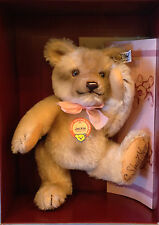 "Steiff 1953 Replica Jackie Bear 0190/25 9.84"" Mohair Excelsior Packed NEW SIGNED"