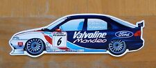 Ford Mondeo Valvoline Radisich / Robertson BTCC Race Motorsport Sticker / Decal