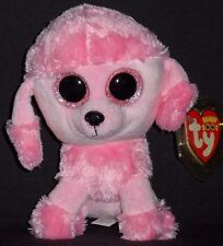 "TY BEANIE BOOS - PRINCESS the 6"" POODLE DOG - MINT with MINT TAG - GLITTER EYES"