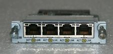 Genuine Cisco WIC-4ESW Interface Module For 1721 1760 2600 2600XM 2691