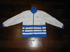 Preowned ADIDAS 3-STRIPES COOL SUIT Jacket Size S US 15 Korea White/Blue